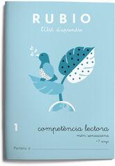 COMPETÈNCIA LECTORA 1 SENSACIONS PRIMÀRIA Rubio 9788415971672