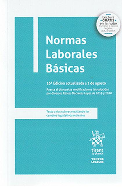 Normas Laborales Básicas 16ed.