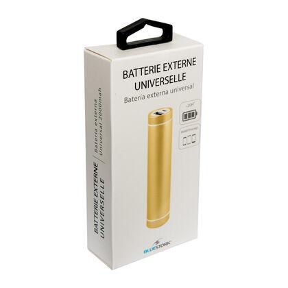 Batería Externa Bluestork Or 2000Mah