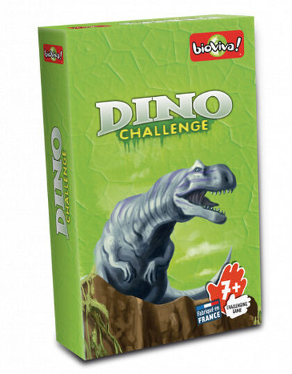 Juego de cartas Bioviva Dino Challenge Verde