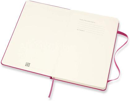 Agenda Moleskine  Cuaderno Semana Vistal L Semana Vista Inglés Rosa (13x21 cm)