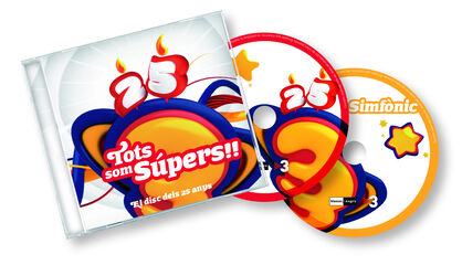 SUPER3 TOTS SOM SUPERS 2CD