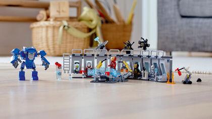 LEGO Superhéroes Iron man location (76125)