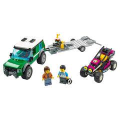 LEGO City Great Vehicles Furgoneta de Transporte del Buggy de Carreras (60288)