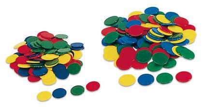 Material para clasificación Cayro Fichas 100U