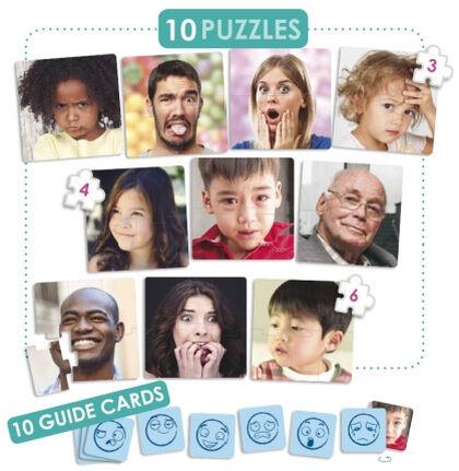 Puzzle Akros Las 10 emociones