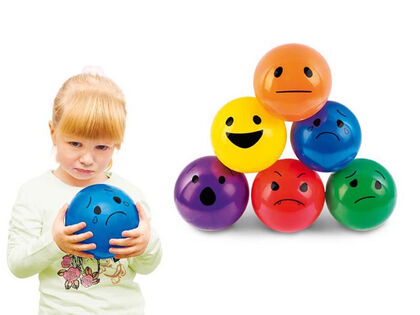 Balón Nowa Szkola Las emociones 6U
