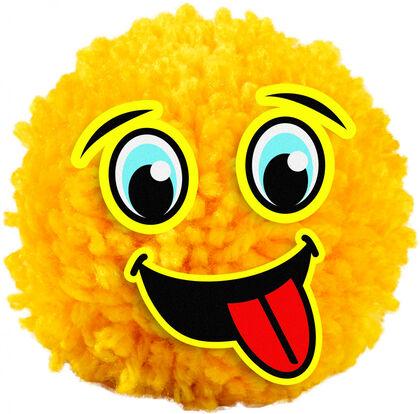 Crea Y Decora Pom Pom Emoticonos