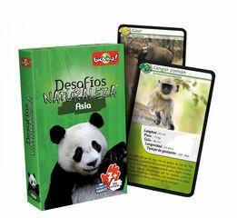Juego de cartas Bioviva Desafíos Naturaleza Asia