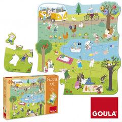 Puzzle Goula XXL Un día en el campo