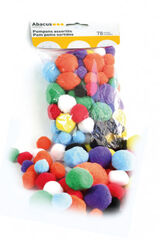 Pompones macro colores Abacus