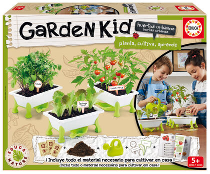 Huerto infantil Garden Kid Hortalizas Educa