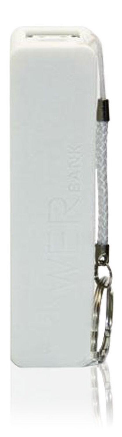 Batera externa Sogo Llavero Blanco