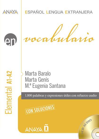 ELE VOCABULARIO A1 A2 ELEMENTAL Anaya ELE 9788467841268