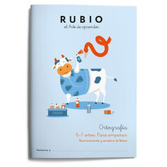 ORTOGRAFÍA 6-7 AÑOS. PARA EMPEZAR Rubio 9788417427139