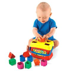 Juego de construcción Fisher Price Bloques Infantiles