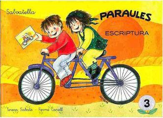 PARAULES ESCRIPTURA 3 Salvatella 9788484124047