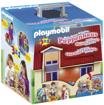 Playmobil Dollhouse Casa maletín