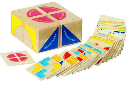 Puzzle Goki Kubus madera