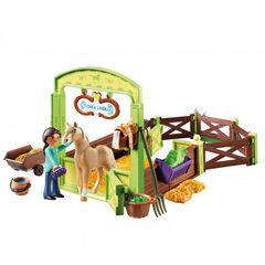 Playmobil Spirit Estable Pru y Chica Linda