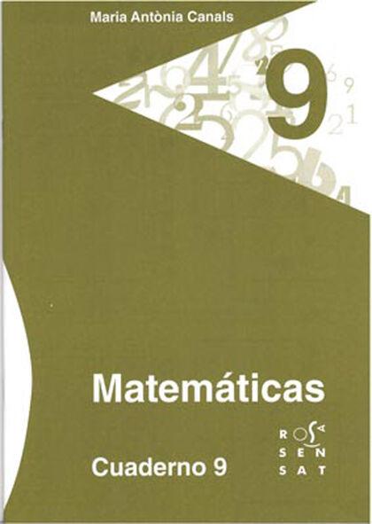 9DRS Cuaderno 09 Rosa Sensat 9788492748624