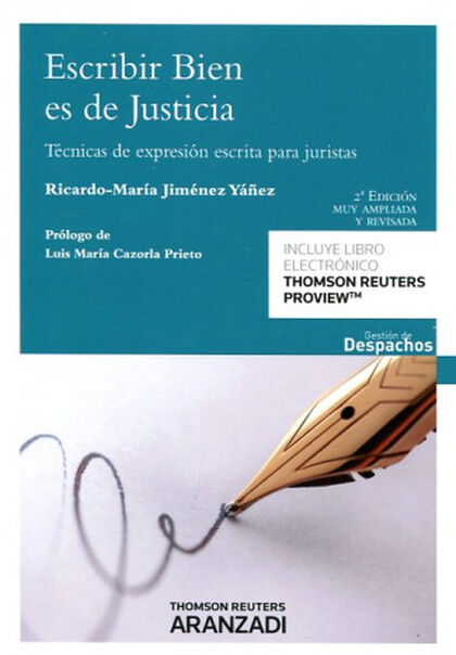 Escribir bien es de justicia (Papel + e-
