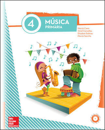 MÚSICA 4t PRIMÀRIA McGraw-Hill Text 9788448195427