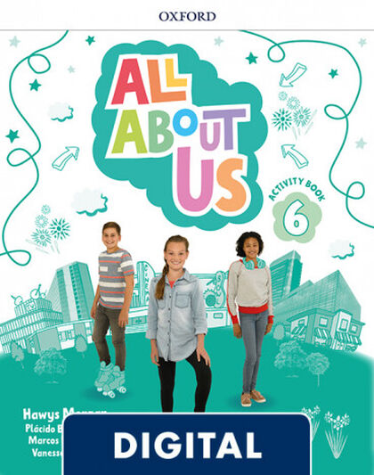 ALL ABOUT US 6 ACTIVITY BOOK PK Oxford 9780194562270