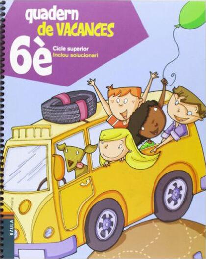 VACANCES 12 6e PRIMÀRIA Baula 9788447924318