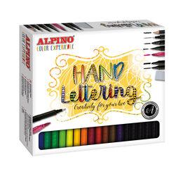 Set de rotuladores Alpino Experience Hand Lettering