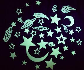 Formas Play Learn Luna y estrellas brillantes