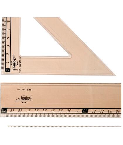 Cartabón 20cm TECNIT