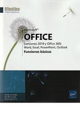 Microsoft® Office (versiones 2019 y Office 365) - Funciones basicas