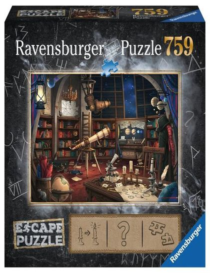 Puzzle Escape observatorio 750