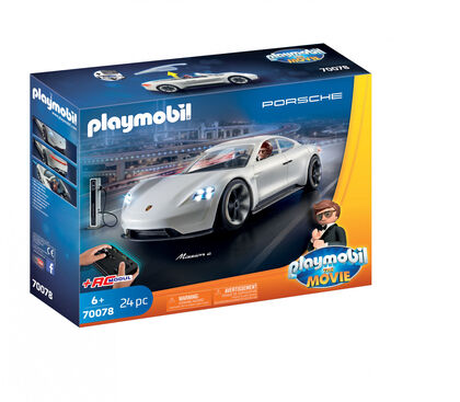 Radiocontrol Playmobil The movie Porsche Mission