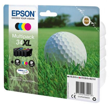 Recambio libreta Epson 34XL colores