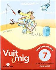 MATEMÀTICA VUIT I MIG 7 12 PACK 4t PRIMÀRIA Teide Text 9788430780006