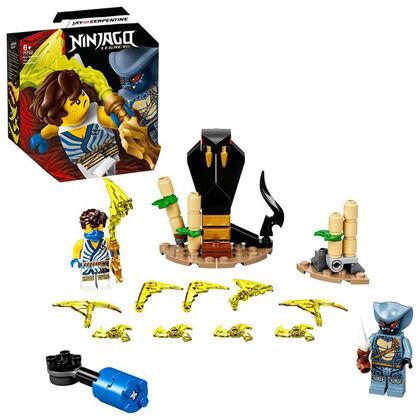 LEGO Ninjago Set de Batalla Legendaria: Jay vs. Serpentine (71732)