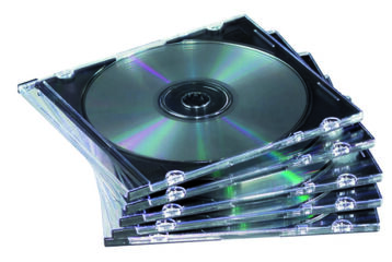 FUNDA CD-R TRANSPARENTE
