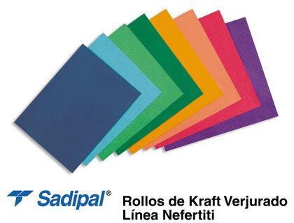 Bobina papel embalar Sadipal Kraft-Color 1000x25000 mm Natural