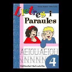 LLETRES I PARAULES 4 Salvatella 9788484124580