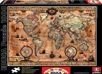 Puzzle Educa Mapamundi