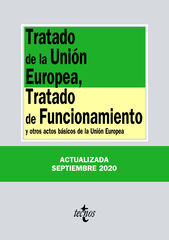 Tratado de la Unión Europea  Tratado de Funcionamiento