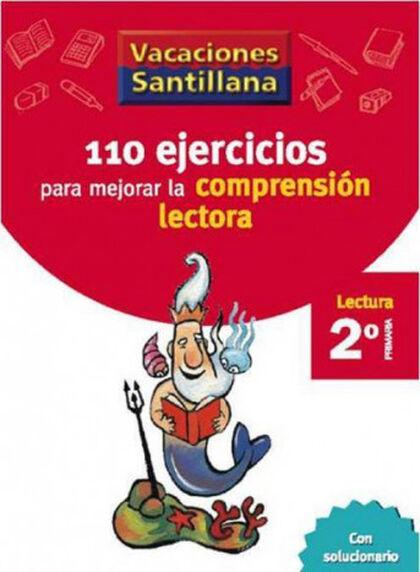 VACACIONES COMPRENSIÓN LECTORA 2º PRIMARIA Santillana Vacances 9788429408904