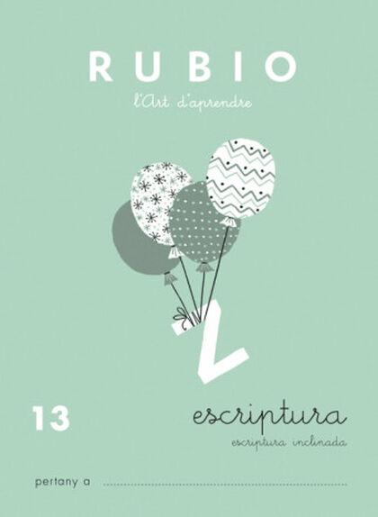 ESCRIPTURA 13 PRIMÀRIA Rubio 9788489773639