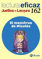 JL162 Monstruo de Nicolás PRIMÀRIA Bruño Text 9788421673379