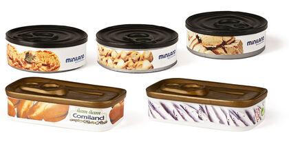Juego simbólico Comiland set de latas