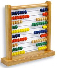 Ábaco 100 bolas de madera