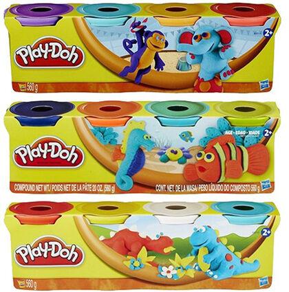 Plastilina Play Doh - 4 botes