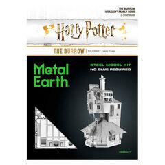 Maqueta Harry Potter The Burrow Metalearth